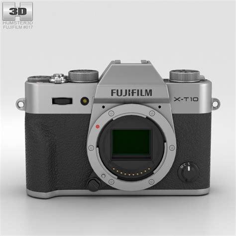 fujifilm 3d fujifilm x t10 silver 3d model hum3d