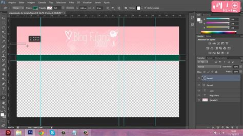 layout para youtube editavel garota hi tec crie seu pr 243 prio template layout para o
