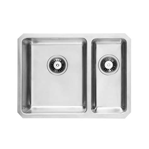 undermount kitchen sinks uk um2506 rhombus lh undermount 1 5 bowl kitchen sink