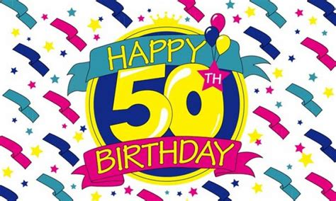 Happy 50th Birthday Wishes Happy 50th Birthday Wishes Cliparts Co