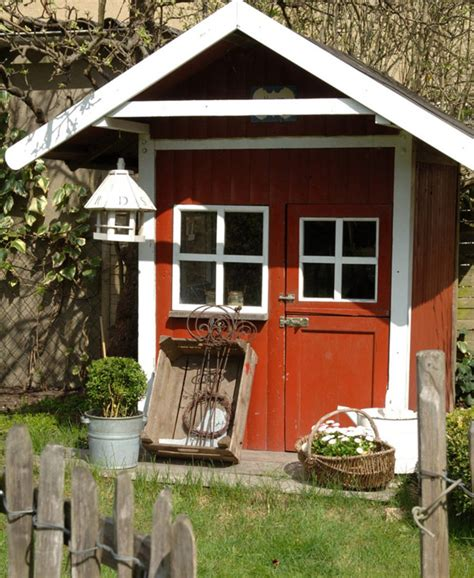 Creative Garden Sheds by Garden Sheds The Seasoned Homemaker