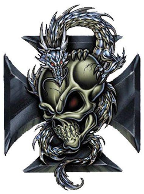 iron cross skull tattoo designs with skull tatoo wall iron cross