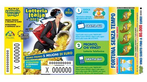 lotteria italia 2014 premi di consolazione lotteria italia estrazione 6 gennaio 2014 premi di
