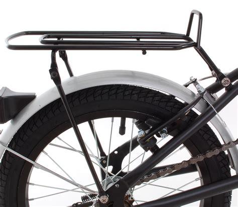 Folding Bike Rack by Omega 16 Quot Steel Folding Bicycle Rack Fenders Ebay