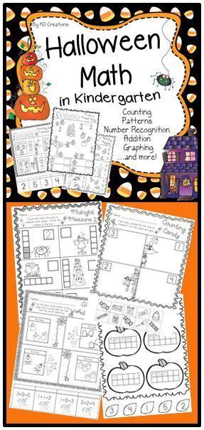 math student and halloween on pinterest halloween math patterns for kindergarten 50 halloween