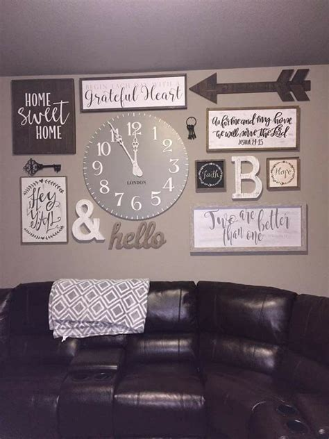 home decor wall signs best 25 rustic gallery wall ideas on pinterest family