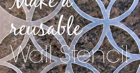 Handmade Stencils - reusable wall stencil 50c hometalk