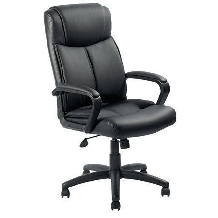 Office Depot Chair by Brenton Studio Crawley Executive High Back Chair Black By