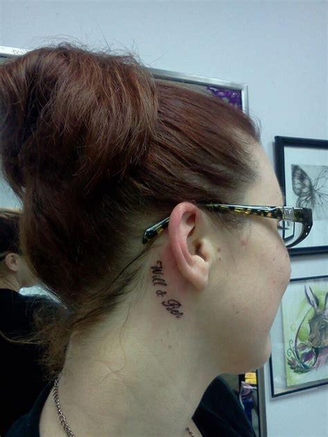 bjork tattoo behind ear kids names behind the ear tattoo tattoo ideas