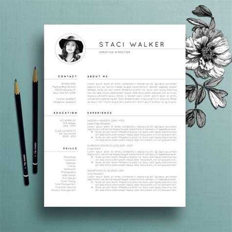 17 best ideas about resume templates on pinterest cv