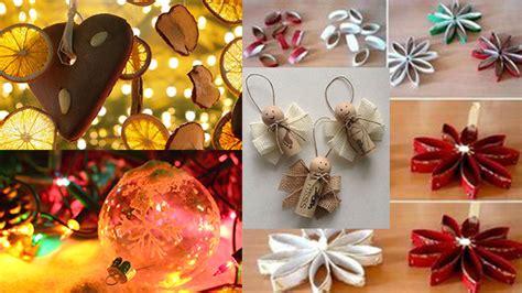 decorazioni tavola di natale fai da te 10 decorazioni natalizie per l albero di natale fai da te