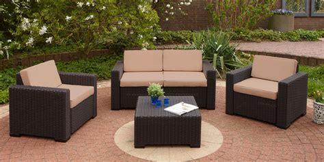allibert salon de jardin 2831 salon de jardin allibert table et chaise de jardin resine
