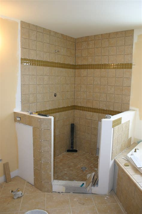 ideas for showers in small bathrooms old house new home the story of a tear down