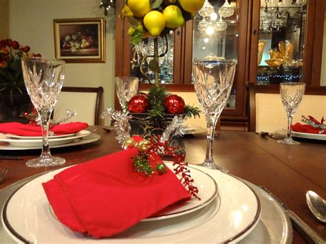 simple christmas home decorating ideas dining room elegant christmas banquet decorating ideas