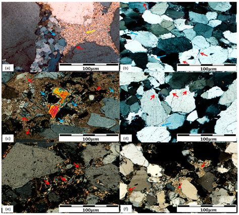 quartz thin section properties minerals free full text diagenesis and reservoir