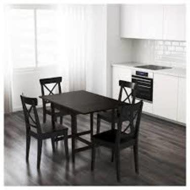 ingatorp extendable table black ingatorp extendable table white reviews brokeasshome com