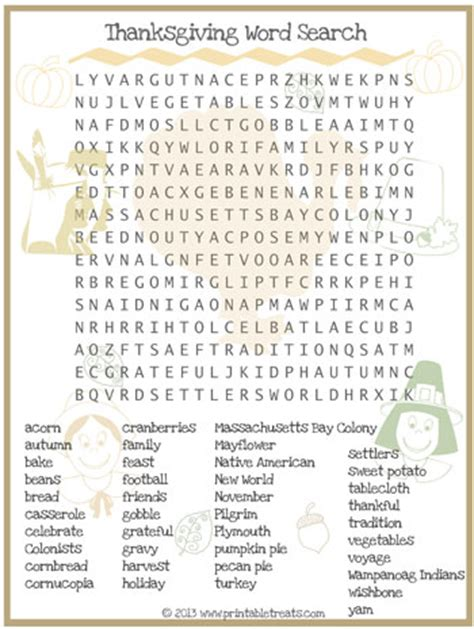 printable word search for thanksgiving thanksgiving word search for kids printable printable
