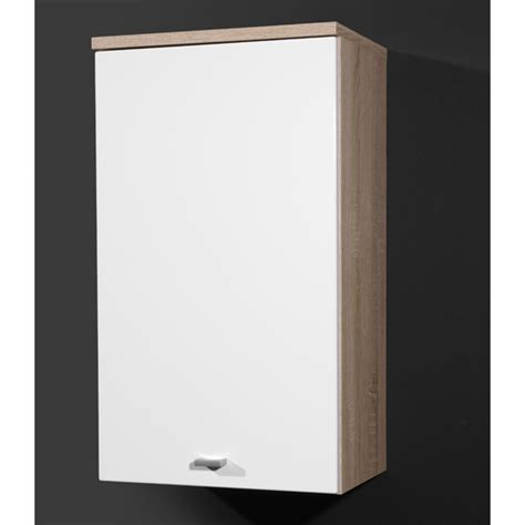 hygena bathroom wall cabinet white gloss
