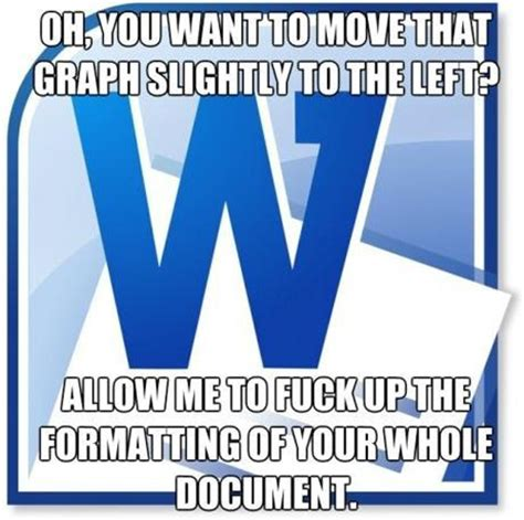 Microsoft Word Meme - 21 funny nerdy pictures kill the hydra