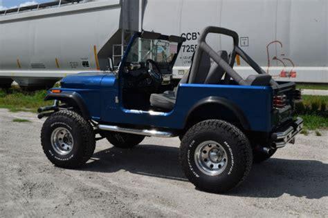 Jeep V8 1984 Jeep Cj7 V8 Conversion