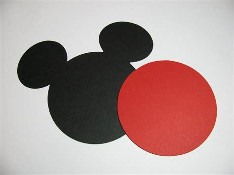large mickey mouse template mickey mouse ear small template studio design
