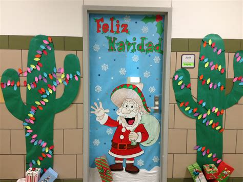 christmas door decorating school ideas pinterest