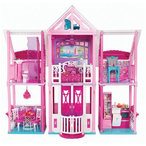 barbie dream house dolls house playset barbie malibu dreamhouse the perfect barbie dollhouse