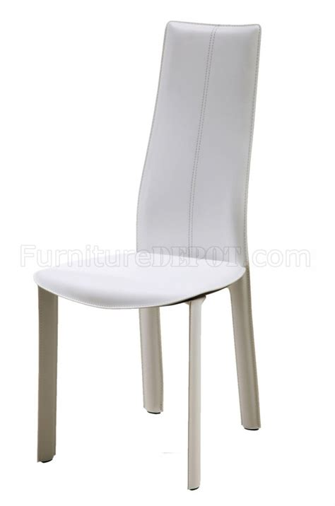 allison dining chairs set of 4 white black or brown