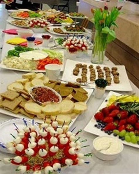 Appetizer Table by Food Decor Appetizer Table Layout Ideas