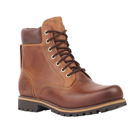 s rugged 6 quot waterproof boots in brown timberland