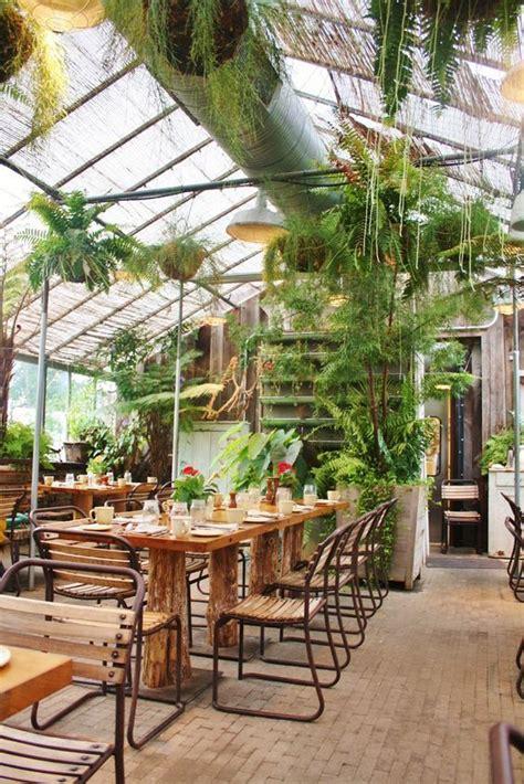 design hub greenhouse cafe naturaleza y decoraci 243 n vintage dentro de los negocios