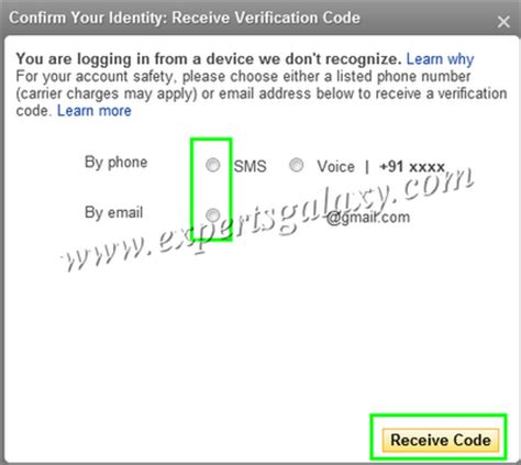 yahoo email verification code set up second sign in verification in yahoo to increase e