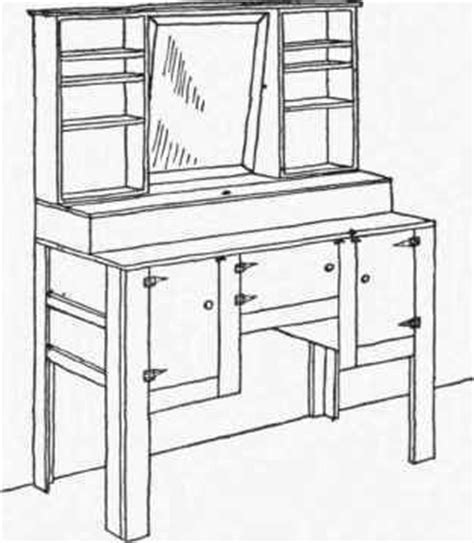 how to build a vanity desk how to make dressing table