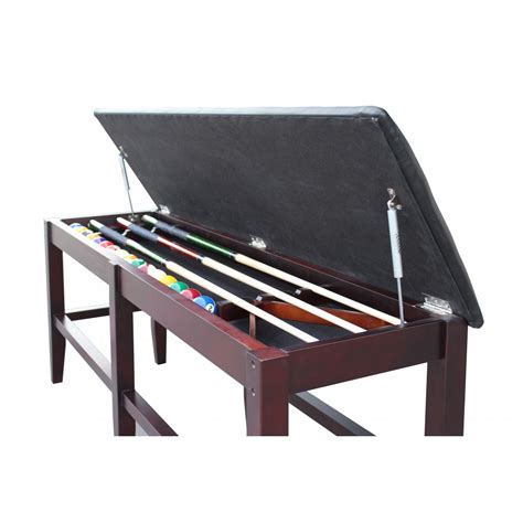 gaming bench unity billiards bench game room furniture games