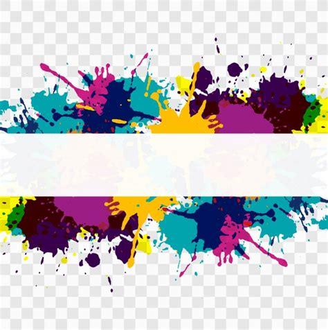 imagenes vectores sin fondo fondo dividido colorido de manchas de acuarela descargar