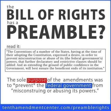 Second Amendment To The Constitution Essay by Did You The Bill Of Rights Has A Preamble Here It Is