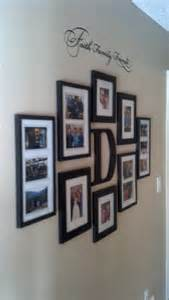 Home Decoration Photo Gallery Faith Family And Friends Hallway Wall Collage Ideas