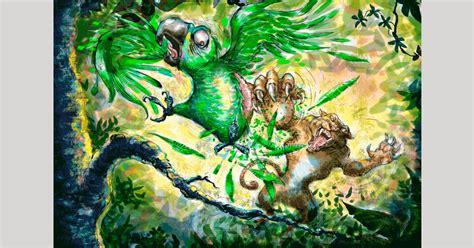quot el loro pelado cuentos de la selva quot de horacio quiroga cuentos de la selva 2 domo