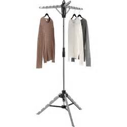 whitmor collapsible tripod garment and drying rack