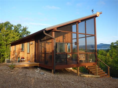 Small Modern Cabins | a modern cabin in the hills simply home small house bliss