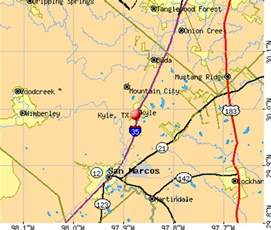 kyle tx 78640 profile population maps real