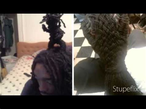 basket with dreads the real basket weave dreadlock style more by sensei