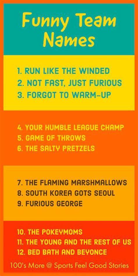 team themes names 32 best sports team names basketball baseball softball