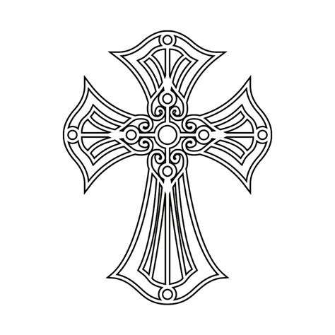 cross drawings for tattoos pretty drawings of crosses www imgkid the image