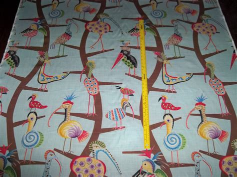 whimsical upholstery fabric clarence house whimsical polly birds toile linen fabric