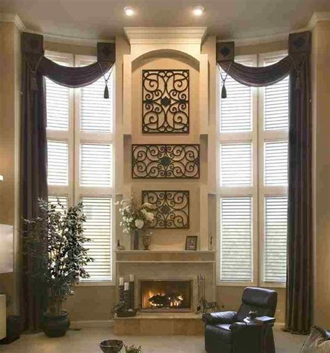 valances for large living room windows astonishing window treatments for large windows in living