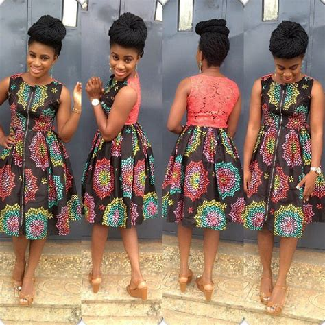 short gowns for aso ebi styles lovely asoebi ankara styles short gowns amillionstyles com