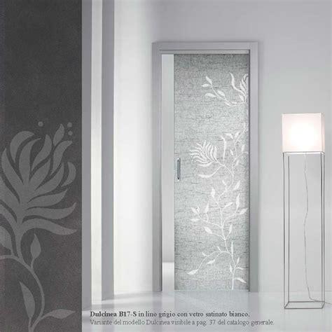 porte interne con vetro satinato porte scorrevoli in vetro esterno muro o a scomparsa