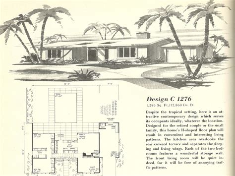 1960s house plans vintage 1960s house plans vintage home plans mexzhouse com