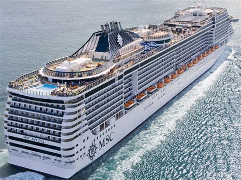 msc to msc divina itinerary schedule current position